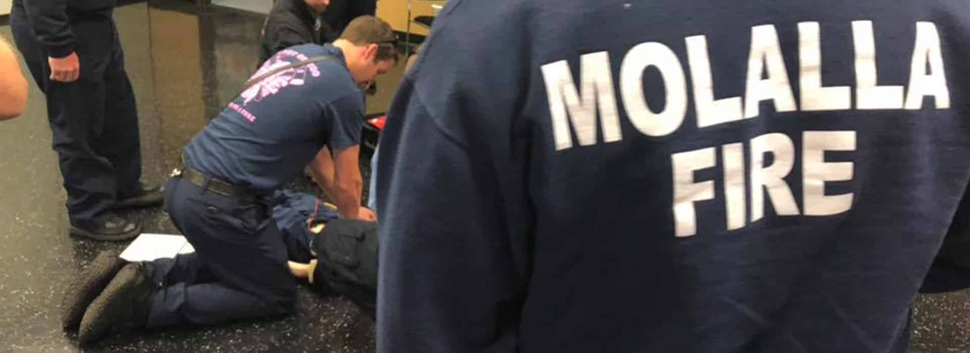 Molalla Fire EMS volunteers practice CPR skills
