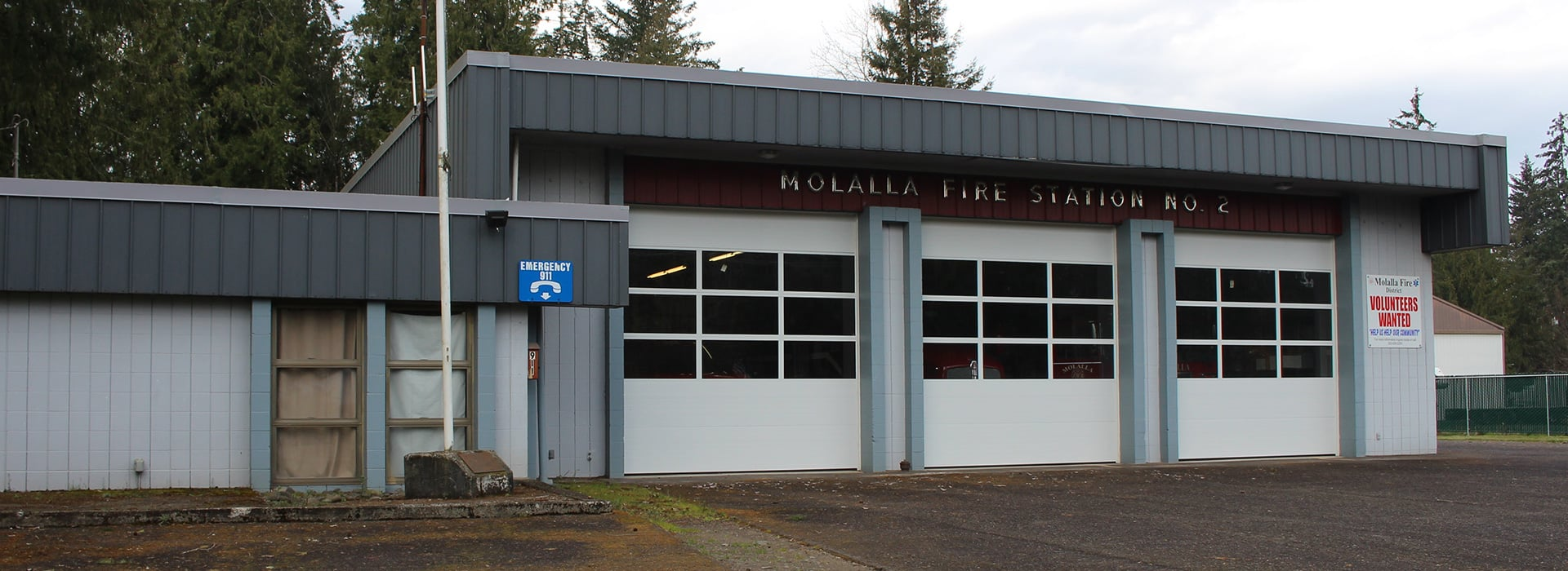 Molalla Fire's Mulino Fire Station