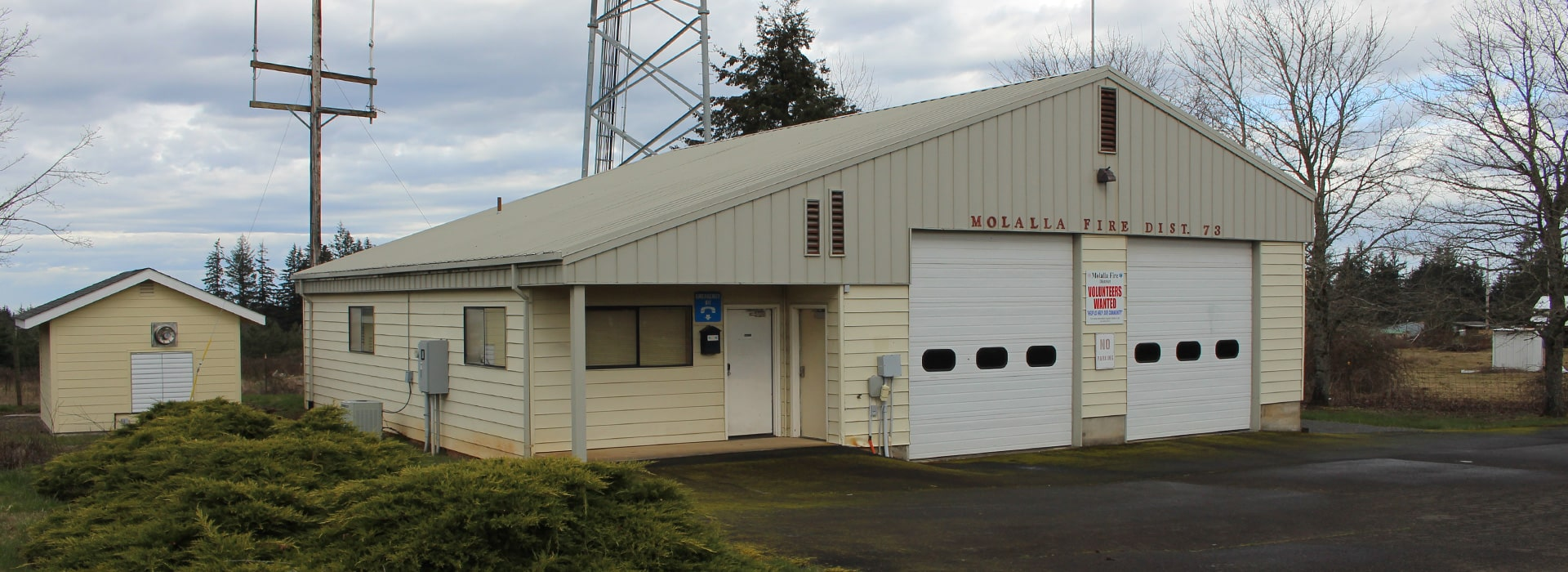 Molalla Fire's Sawtell Road Station